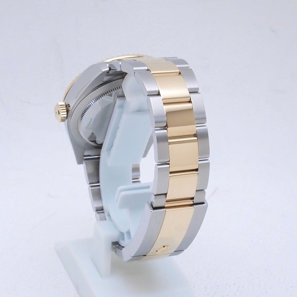 ロレックス ROLEX メンズ腕時計 スカイドゥエラー 326933 SS/YG ブラック文字盤 新品同様 新入荷 おすすめ 新着|ronde|03