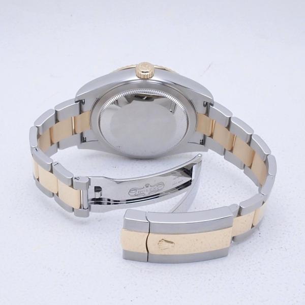 ロレックス ROLEX メンズ腕時計 スカイドゥエラー 326933 SS/YG ブラック文字盤 新品同様 新入荷 おすすめ 新着|ronde|04