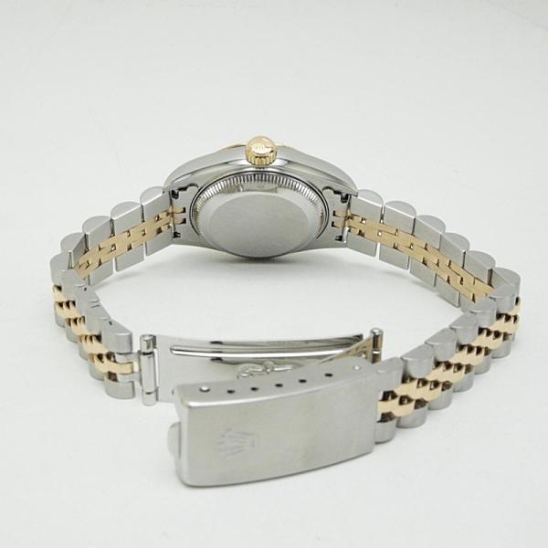 ロレックス ROLEX レディース腕時計 デイトジャスト 69173G SS(ステンレス)/YG ダイヤ ブル−グラデーション文字盤 中古 新入荷 おすすめ ronde 04