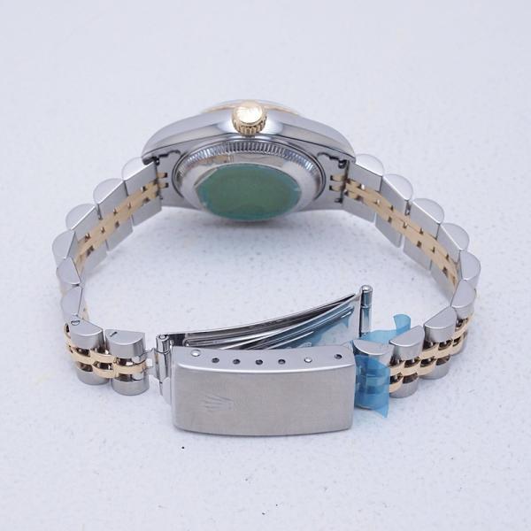 ロレックス ROLEX レディース腕時計 デイトジャスト 69173G SS/YG チェリーグラデーション文字盤 中古 新入荷 おすすめ RO0173 新着|ronde|04