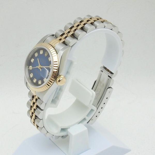 ロレックス ROLEX レディース腕時計 デイトジャスト 79173G SS/YG/10PD ブルーグラデーション文字盤 中古 新入荷 おすすめ RO0156|ronde|02