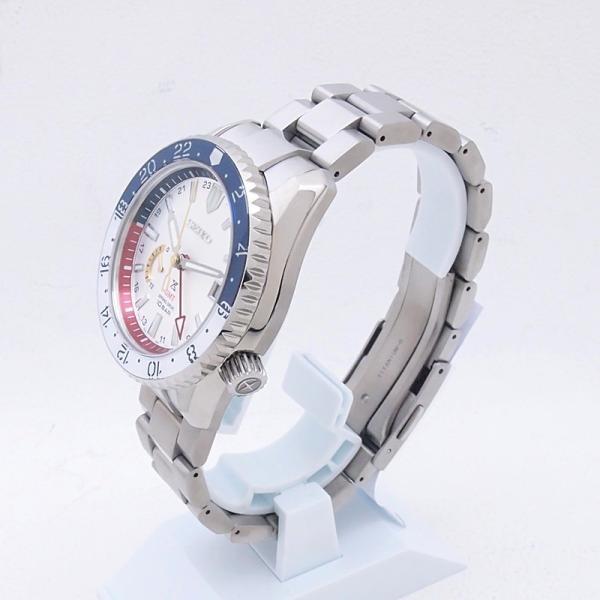 セイコー メンズ腕時計 プロスペックスGMT SBDB033 Ti(チタン) シルバー文字盤 中古 新入荷 おすすめ OW0188 新着 ronde 02