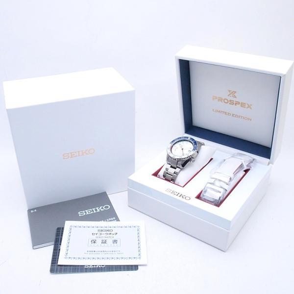 セイコー メンズ腕時計 プロスペックスGMT SBDB033 Ti(チタン) シルバー文字盤 中古 新入荷 おすすめ OW0188 新着 ronde 06