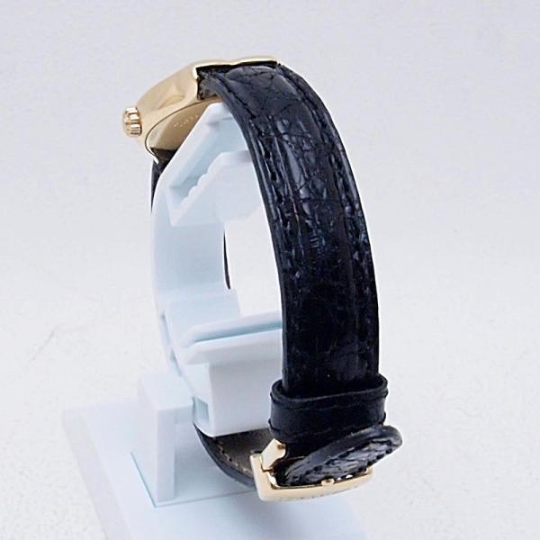 ティファニー Tiffany レディース腕時計 テソロ LQ0130 K18/革 ブラック文字盤 中古 新入荷 おすすめ TI0058 新着|ronde|03
