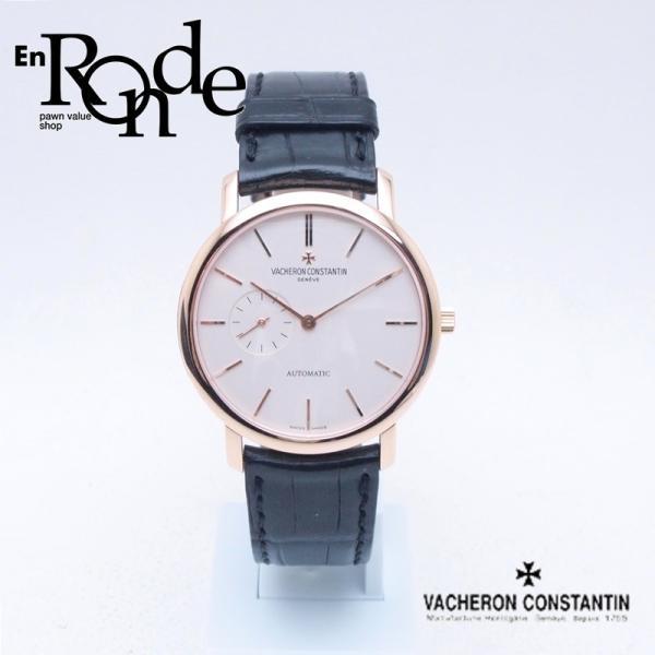 ヴァシュロンコンスタンタン  メンズ腕時計 パトリモニークラシック 87170/000R PG/革 ホワイト文字盤 中古 新入荷 おすすめ 新着|ronde