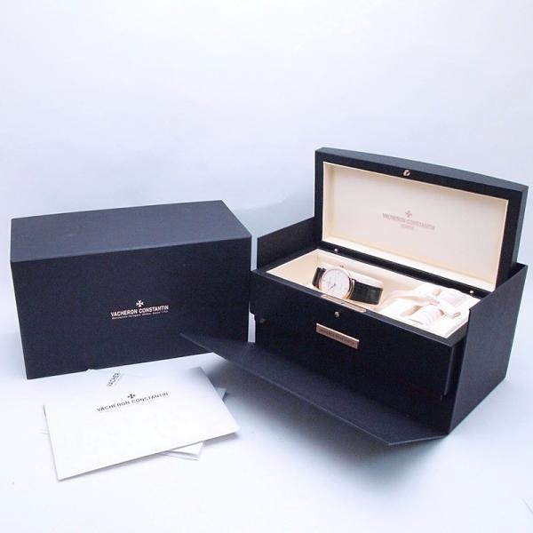 ヴァシュロンコンスタンタン  メンズ腕時計 パトリモニークラシック 87170/000R PG/革 ホワイト文字盤 中古 新入荷 おすすめ 新着|ronde|06