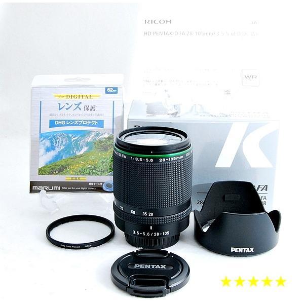 ペンタックス 一眼レフ用 レンズ HD PENTAX D FA 28-105mm F3.5-5.6 ED DC WR 中古 送料無料 オススメ 人気商品