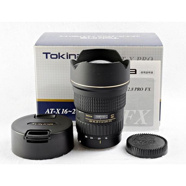 中古 レンズ 一眼カメラ用 キヤノン キャノン TOKINA AT-X 16-28mm F2.8 PRO FX For Canon