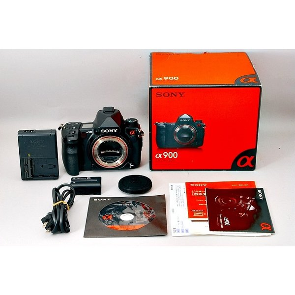 ソニー デジタル一眼レフカメラ SONY α900 DSLR-A900 中古 送料無料 オススメ 人気商品 希少