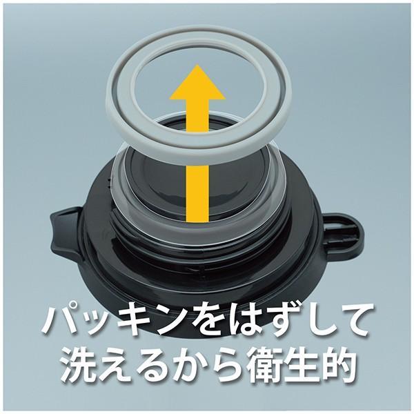 ステンレス カフェサーバー 0.8L 2〜6杯用 コーヒーサーバー 保温 (アトラス)シルバー ブラック ACS-800|roomdesign|05