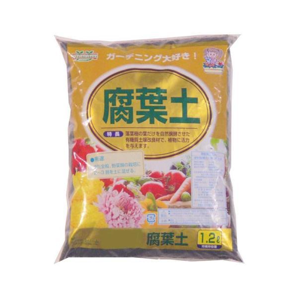 あかぎ園芸 腐葉土 1.2L 30袋(同梱・代引き不可)