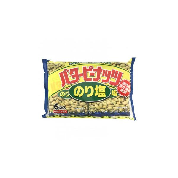 タクマ食品 バターピーナッツ のり塩味 16×4個入(同梱・代引き不可)
