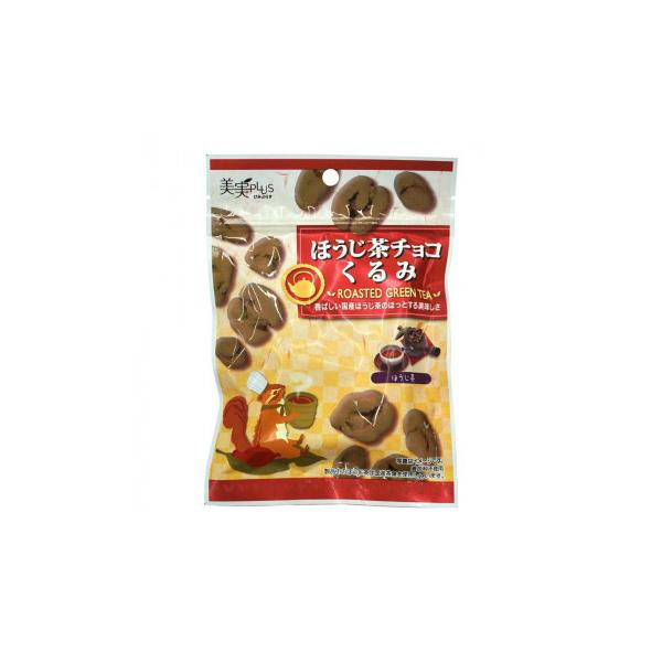 福楽得 美実PLUS ほうじ茶チョコくるみ 38g×20袋(同梱・代引き不可)