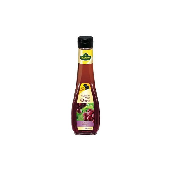 キューネ 赤ワインビネガー 250ml 6セット 053171(同梱・代引き不可)