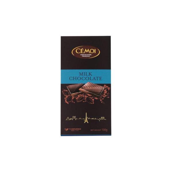 セモア ミルクチョコ 100g 17セット 001008(同梱・代引き不可)