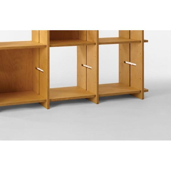 ?GIUNTA ジュンタ 2×4 デザイナーズ ブランド シンプル北欧モダン 組立式シェルフ 本棚間仕切り棚 両面使い可能|roomnext|02