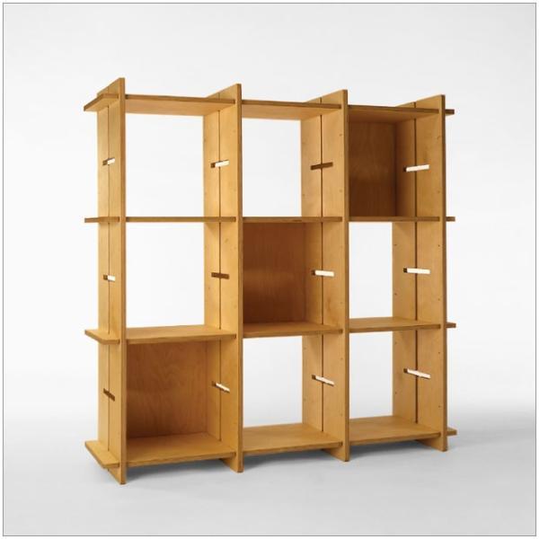 ?GIUNTA ジュンタ 2×4 デザイナーズ ブランド シンプル北欧モダン 組立式シェルフ 本棚間仕切り棚 両面使い可能|roomnext|04