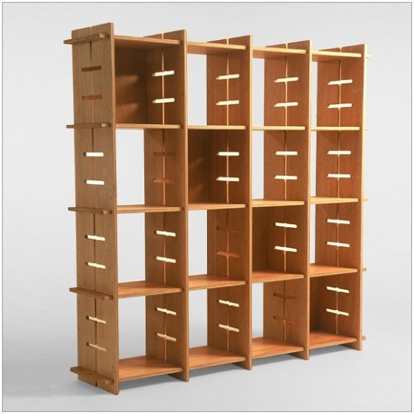 ?GIUNTA ジュンタ 2×4 デザイナーズ ブランド シンプル北欧モダン 組立式シェルフ 本棚間仕切り棚 両面使い可能|roomnext|05