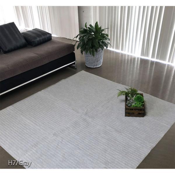 カーペット おしゃれ 安い ラグ 6畳 6帖 261×352cm 日本製 抗菌 折りたたみカーペット ラグマット|rooms-market|15