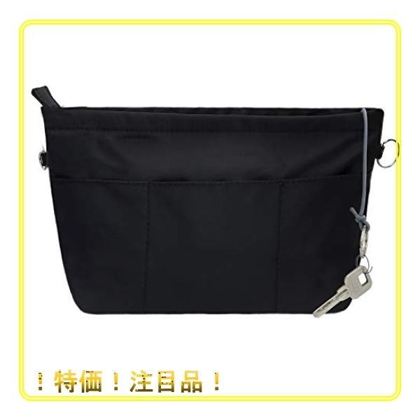 SHINGONEバッグインバッグナイロンA5小さめ横インナーバッグレディースメンズ軽量バックインバック防水