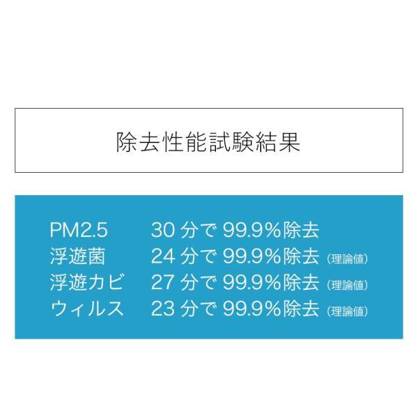 バルミューダ ザ ピュア BALMUDA the pure A01A HEPA フィルター 36畳対応 強力 コンパクト PM2.5 インフルエンザ タバコ [ BALMUDA The Pure ]