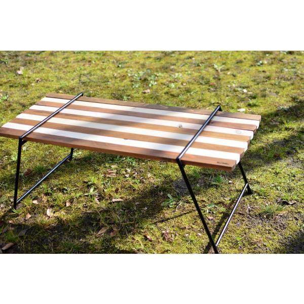 Iron Leg Rolltop Table(アイアンレッグロールトップテーブル)|roostoutdoors