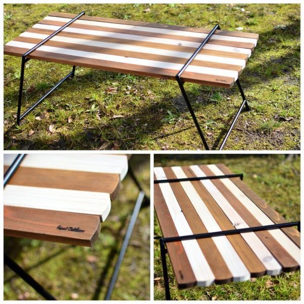 Iron Leg Rolltop Table(アイアンレッグロールトップテーブル)|roostoutdoors|02