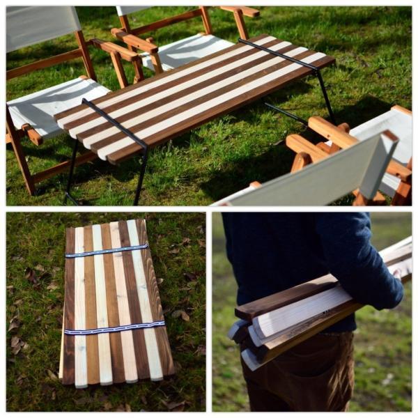 Iron Leg Rolltop Table(アイアンレッグロールトップテーブル)|roostoutdoors|03