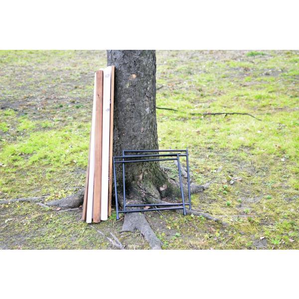 Iron Leg Rolltop Table(アイアンレッグロールトップテーブル)|roostoutdoors|04