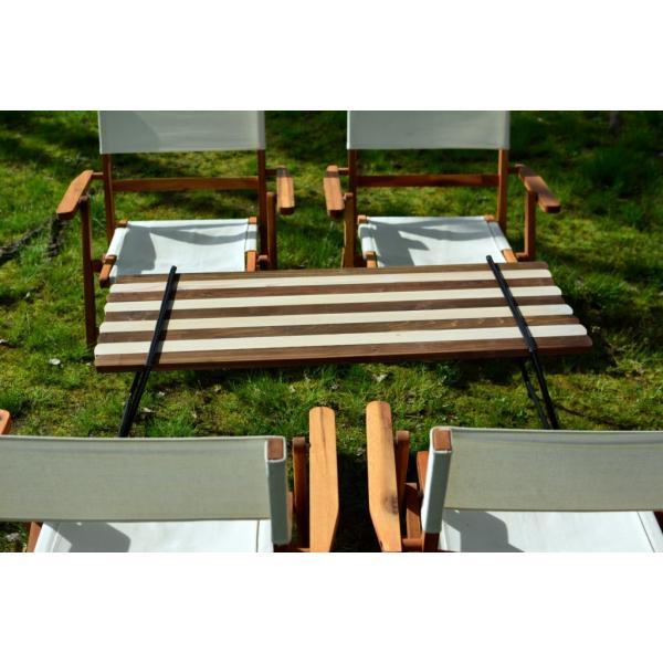 Iron Leg Rolltop Table(アイアンレッグロールトップテーブル)|roostoutdoors|05