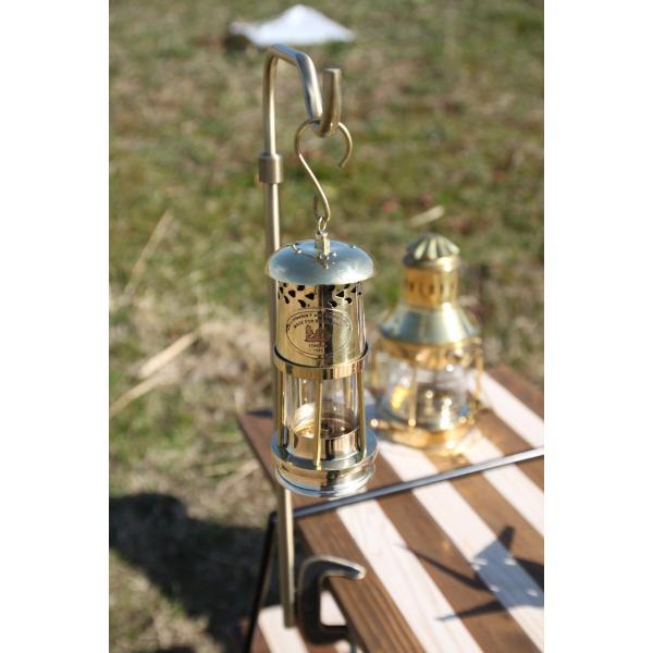 Brass Oil Ship Lantern 17cm (真鍮オイルランタン シップランプ 船灯) ネルソンランプ アンカーランプ 真鍮ランタン roostoutdoors 02