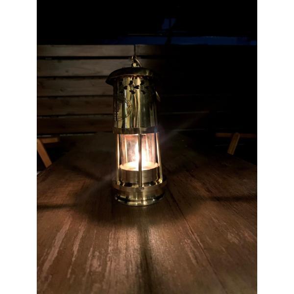 Brass Oil Ship Lantern 17cm (真鍮オイルランタン シップランプ 船灯) ネルソンランプ アンカーランプ 真鍮ランタン roostoutdoors 03
