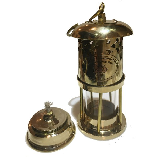 Brass Oil Ship Lantern 17cm (真鍮オイルランタン シップランプ 船灯) ネルソンランプ アンカーランプ 真鍮ランタン roostoutdoors 04