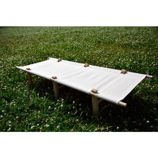 Wood Frame Canvas Cot(ウッド・フレーム・キャンバス・コット) |roostoutdoors