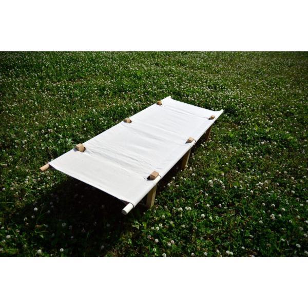 Wood Frame Canvas Cot(ウッド・フレーム・キャンバス・コット) |roostoutdoors|04