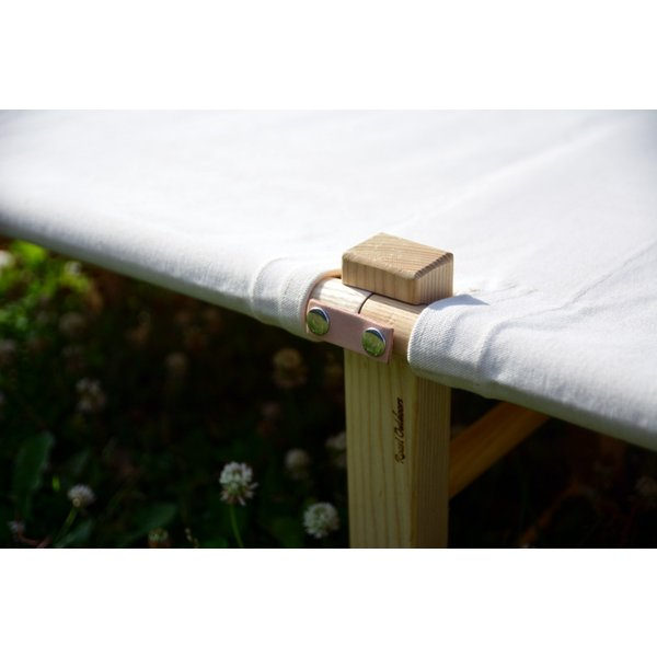 Wood Frame Canvas Cot(ウッド・フレーム・キャンバス・コット) |roostoutdoors|05