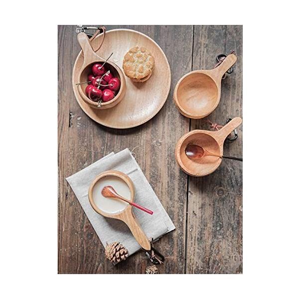 【食品衛生法検査済】 KUKSA ククサ 木製カップ 木のマグカップ 200cc 北欧 箱付き コーヒー スープ ラバーウッド ナチュラル roostoutdoors 05