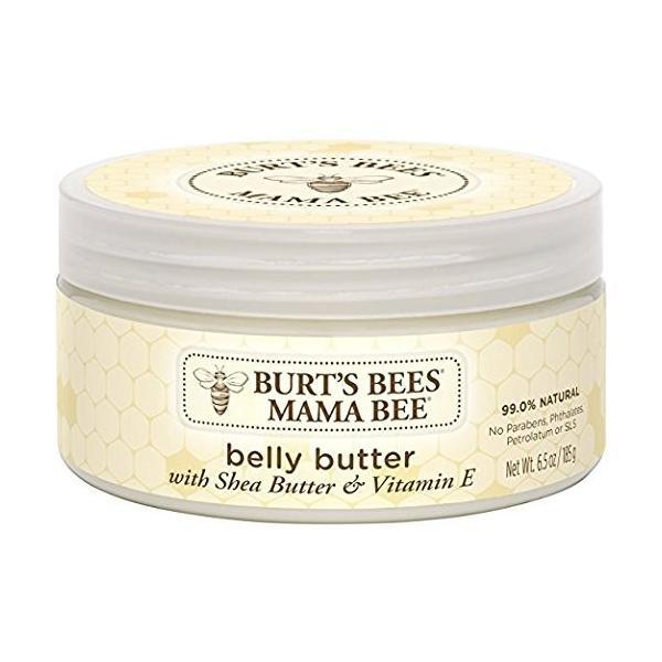 アメリカで一番売れてる 妊娠線 クリーム  天然成分 ママビー ベリーバター Burt's Bees Mama Bee Belly Butter 海外|rora2020