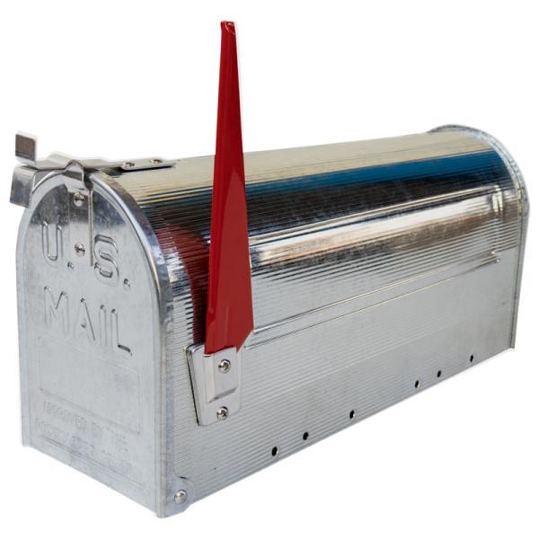 郵便受け 海外 アメリカンポスト スチール製 ポール付 STEEL RURAL MAIL BOX  スタンドメールボックス ポスト 西海岸風 インテリア アメリカン雑貨|rose-bowl|06
