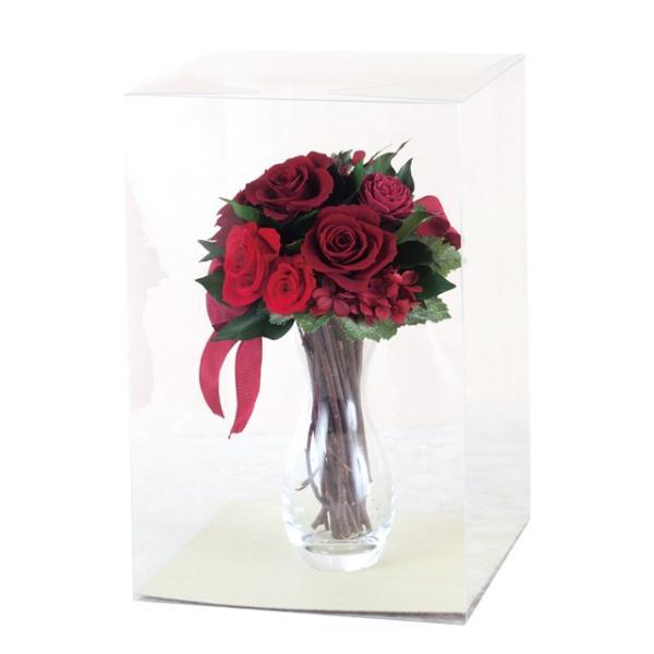 ルージュローズブーケ レッド ウエディング ブーケ 母の日 ギフト 贈り物 誕生日 送別会 結婚式|rose-f|02