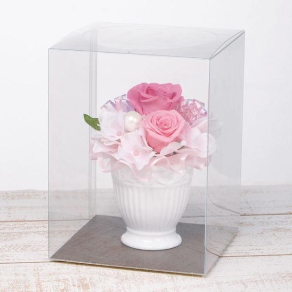 ペンタフル レッド プリザーブドフラワー ウエディング ブーケ 母の日 ギフト 贈り物 誕生日 送別会 結婚式 rose-f 03