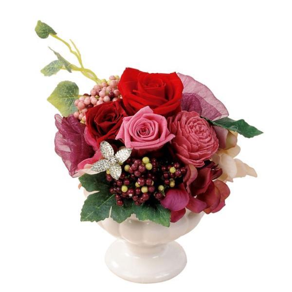 フェリーチェS レッド プリザーブドフラワー ウエディング ブーケ  母の日 ギフト 贈り物 誕生日 送別会 結婚式|rose-f