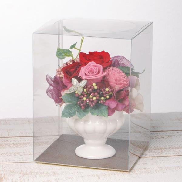 フェリーチェS レッド プリザーブドフラワー ウエディング ブーケ  母の日 ギフト 贈り物 誕生日 送別会 結婚式|rose-f|03