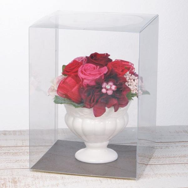 フェリーチェM レッド ウエディング ブーケ 母の日 ギフト 贈り物 誕生日 送別会 結婚式|rose-f|03