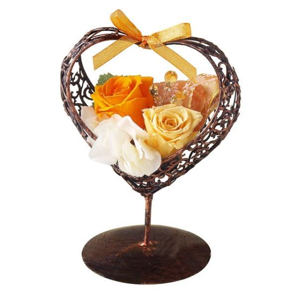 エカリーネ オレンジ ウエディング ブーケ 母の日 ギフト 贈り物 誕生日 送別会 結婚式 rose-f