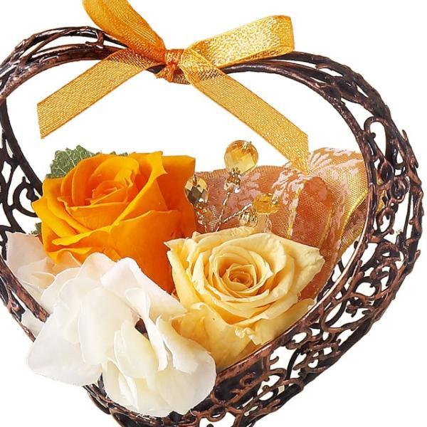 エカリーネ オレンジ ウエディング ブーケ 母の日 ギフト 贈り物 誕生日 送別会 結婚式 rose-f 02