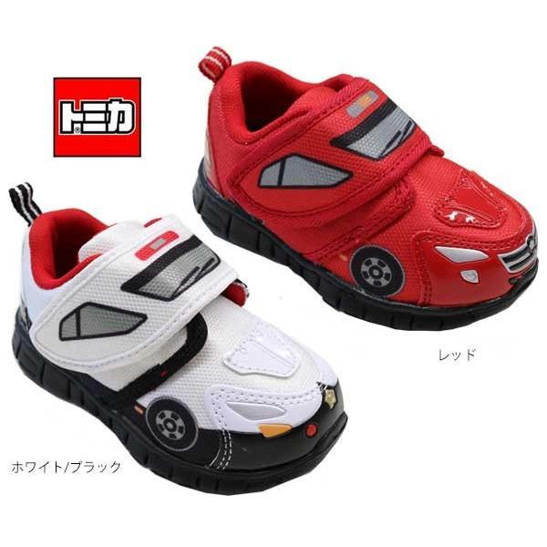 トミカ TOMICA プラレール パトカー 消防車 子供靴 男の子 マジック ベビーシューズ ベビースニーカー プラレール 靴 10615 10617