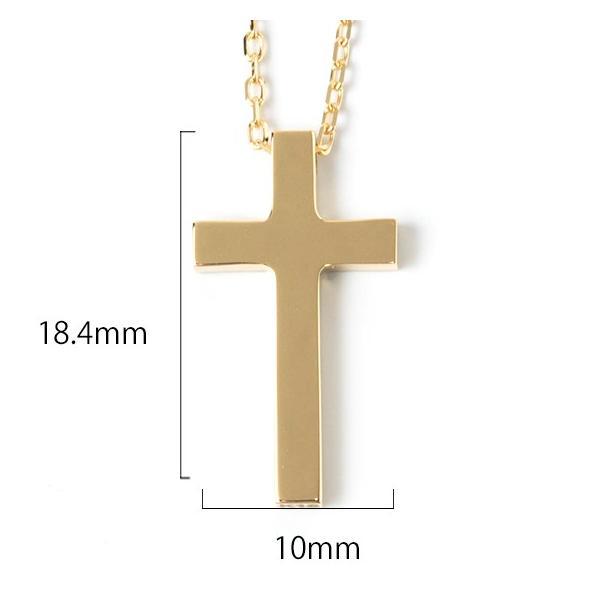ネックレス メンズ 金 18K ゴールド 十字架 クロス  18金  シンプル  クリスマス プレゼント 男性 rossoeblu 10