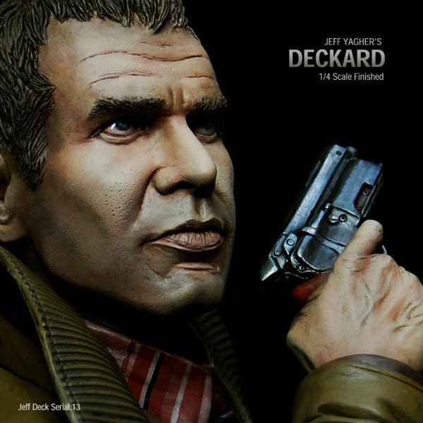Deckard Bust完成品【Serial NO.13】|roswell-japan|08