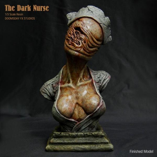 The Dark Nurse Bust 完成品|roswell-japan